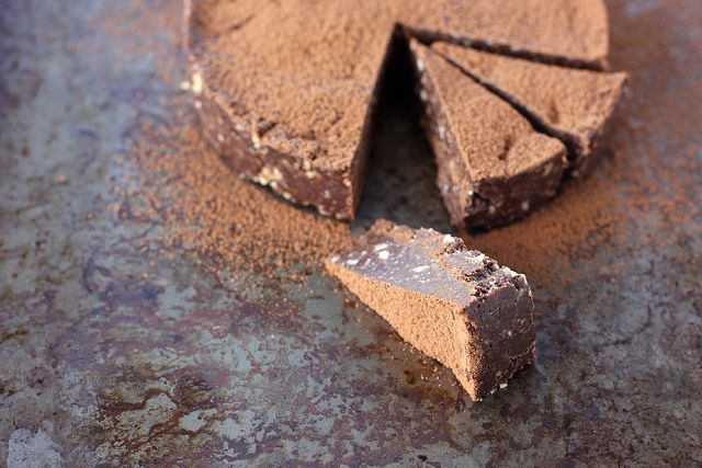 rich chocolate slice {gf/raw/vegan} by My Darling Lemon Thyme, via Flickr