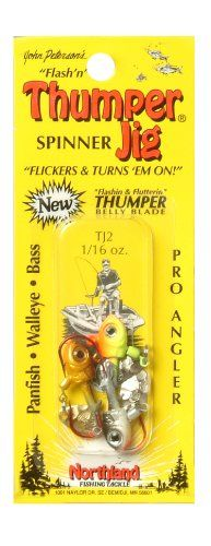 Best price on Northland Tackle 1/16 Oz. Thumper Jig, Assorted  See details here: http://bigfishmart.com/product/northland-tackle-116-oz-thumper-jig-assorted/    Truly the best deal for the inexpensive Northland Tackle 1/16 Oz. Thumper Jig, Assorted! Check out at this low priced item, read buyers' notes on Northland Tackle 1/16 Oz. Thumper Jig, Assorted, and order it online with no hesitation!  Check the price and Customers' Reviews…