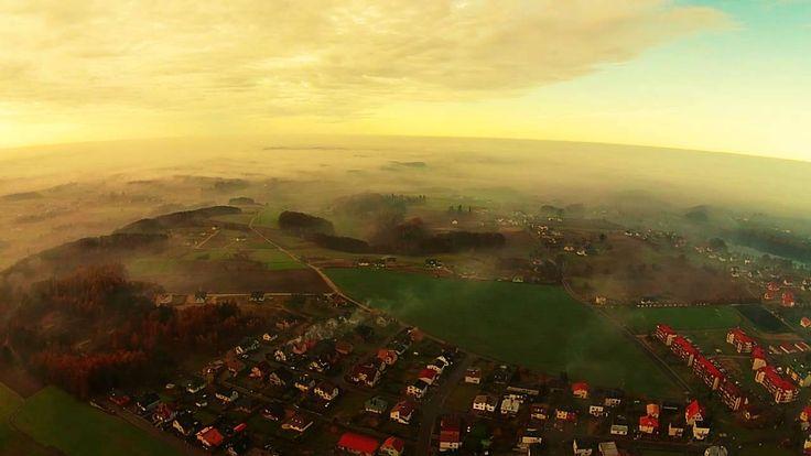 Beautiful kaszuby in the mist - Sierakowice DJI Video by StudioGO