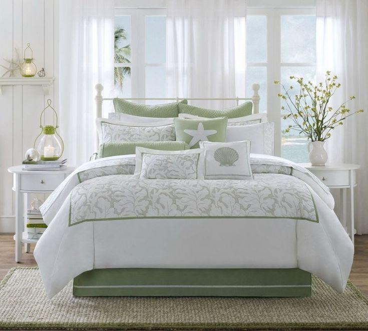 241 best Beach bedrooms images on Pinterest   Beach bedrooms ...