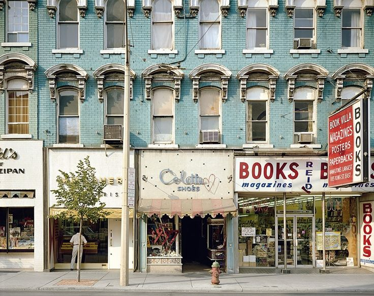 Stephen Shore, King Street, Hamilton, Ontario, August 9, 1974
