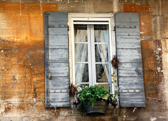 Window In The Provence Make It Rich But Make It Free