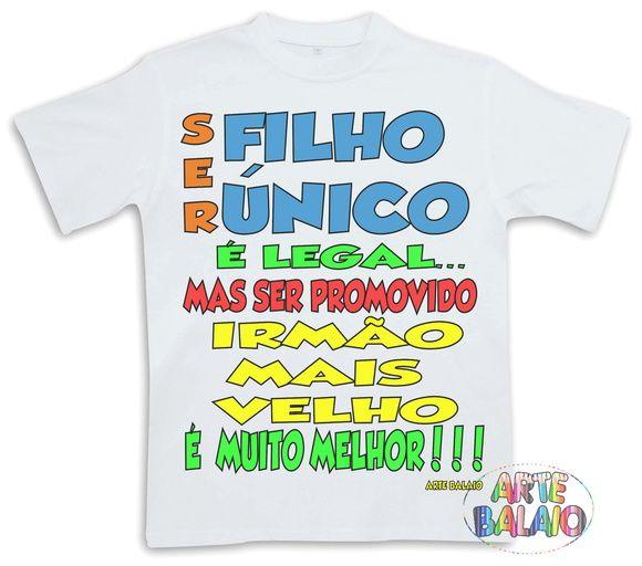 Camiseta Filho Único Promovido