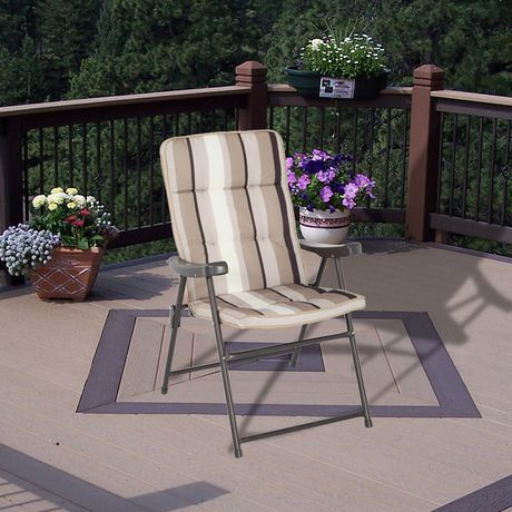 Padded Tall Boy Folding Chair Walmart Ca For The Home