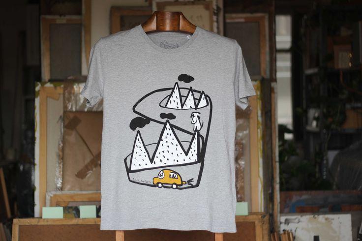 Despistado camiseta hombre Camiseta hombre 100% algodón orgánico 32,00€