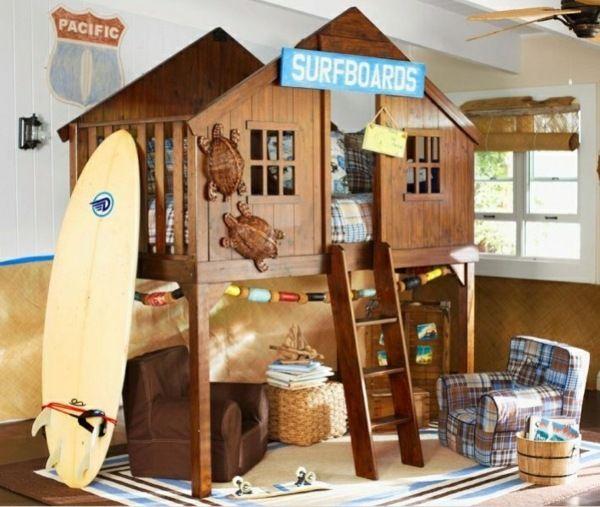 25+ parasta ideaa Bett Für Jungs Pinterestissä Ikea hochbett - schlafzimmer mit bettüberbau