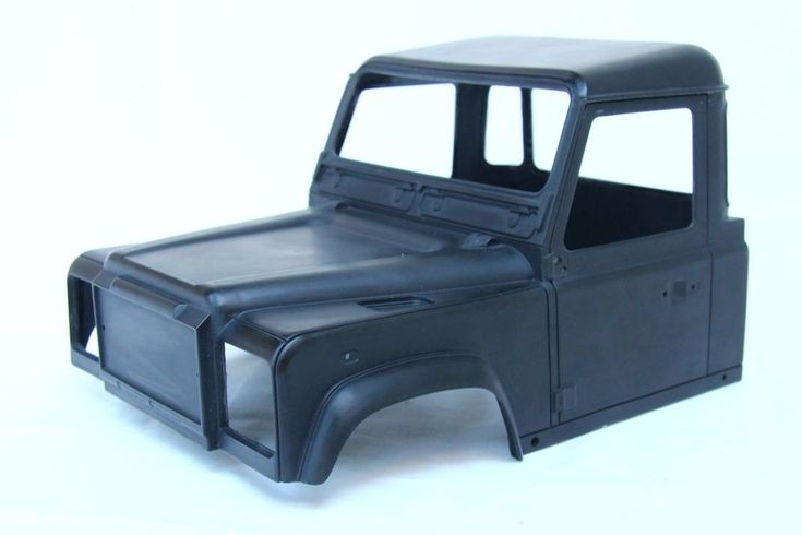 NEW Land Rover Defender D90 Cab Hardbody for Axial SCX10 RC4WD Gelande MEX #LoopsModel