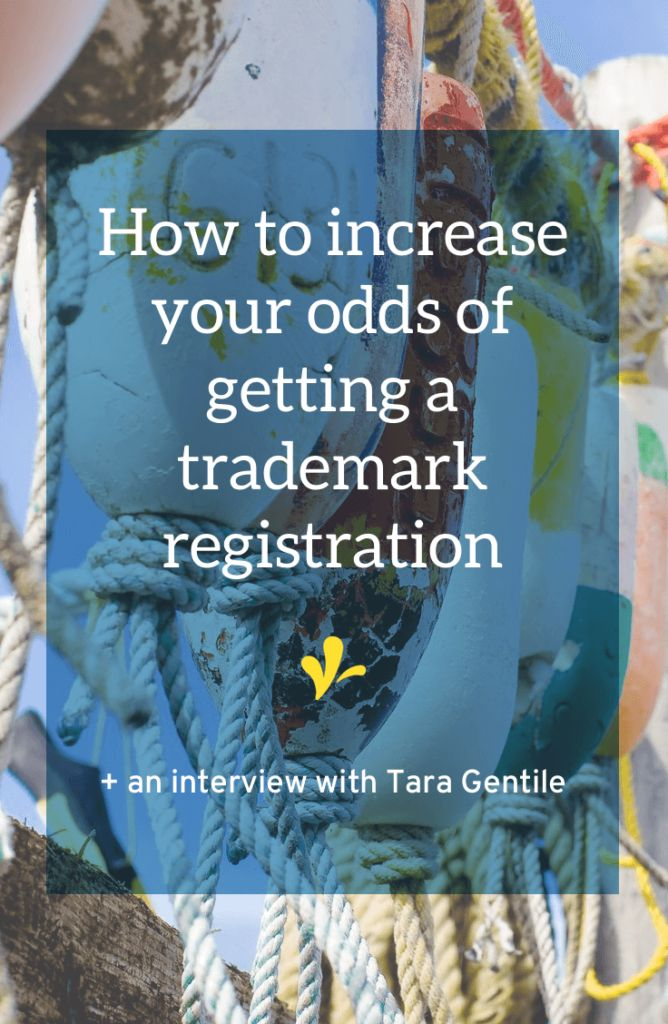 Tara Gentile shares her experience in getting a trademark and I share 2 reasons why it's smart to bring on an expert in the trademark registration process.