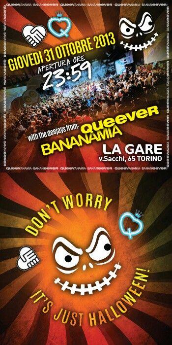 Giovedi 31 Halloween con Queever e Bananamia ★