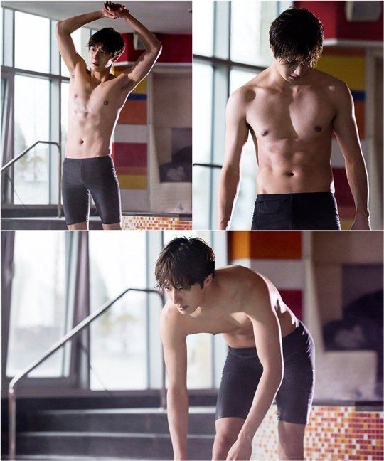 """Cinderella and the Four Knights"" Jeong Il-woo shows off abs"