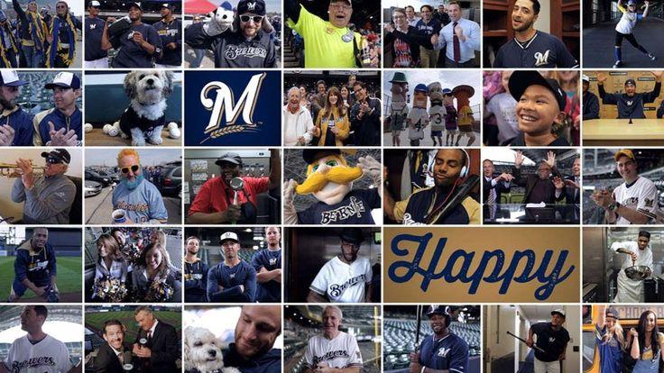 Milwaukee Brewers 'Happy' music video! Happy! Happy! Happy!