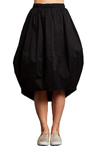 Special Offer: $31.99 amazon.com A bubble skirt is a fashion-forward alternative to basic A-line or pencil skirts. The voluminous silhouette is flattering because it defines a small waist and visually slims legs. Balance the volume of your bubble skirt with fitted tops and bold accessories....