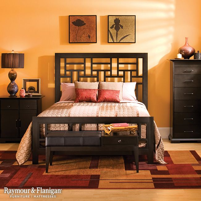 Designing Your Room With This Zesty Color Palette Can Make You Feel Like You Re Queen Bedroom Setscontemporary