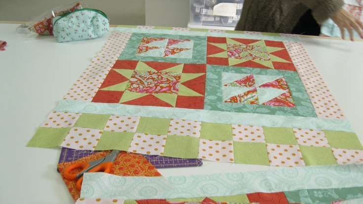 workshop patchwork/quilting