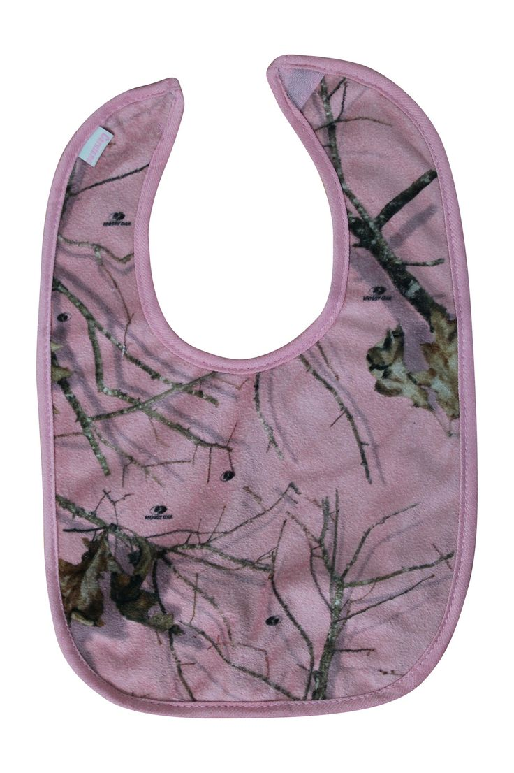 Mossy Oak Pink Baby Bib by Carstens – Camo Chique