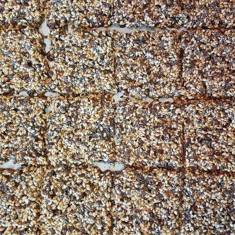 Sesame, Chia and Flax Seed Snaps