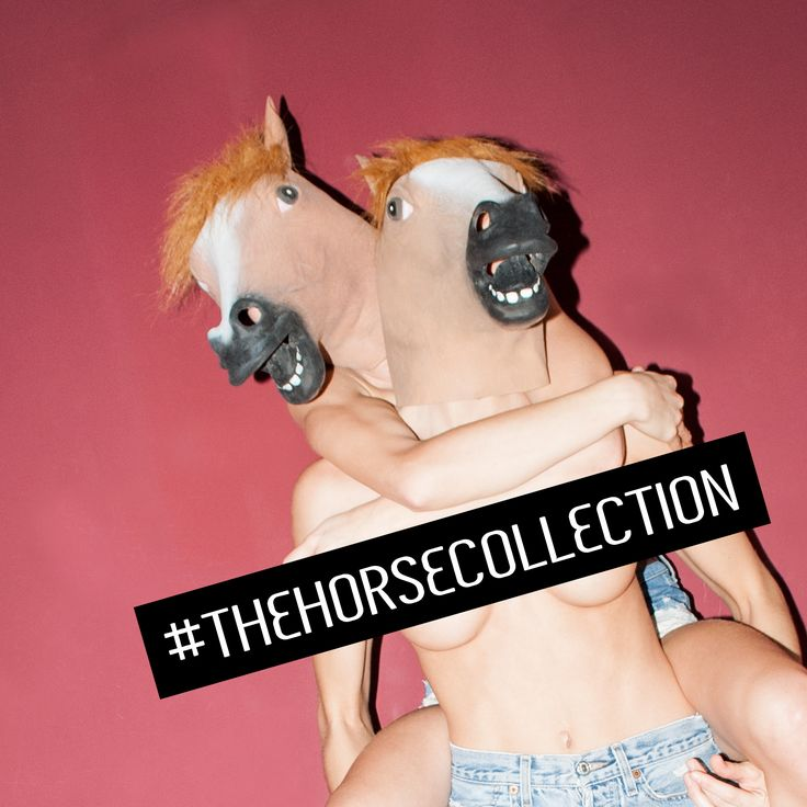 The Horse Collection - limited T-shirt designed by Meat Factory Clothing. Available on www.meatfactoryclothing.com
