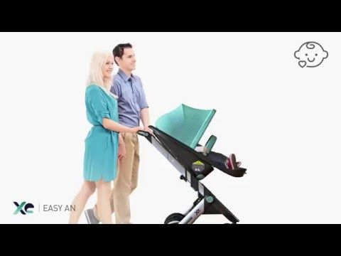 XE Stroller and childseat - Industrial design - Remion Design, Budapest HU