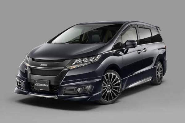 2017 Honda Odyssey Mugen to Sport Sleek New Look