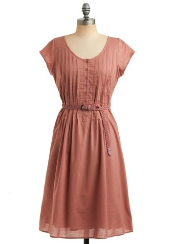 Coral Dress - I like the colour and simplicity. Maybe it could go well with some detail in the form of a necklace?