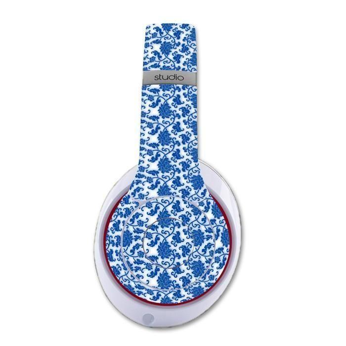 Floral Graphic decal for Monster Beats Studio 2.0 wireless headphones