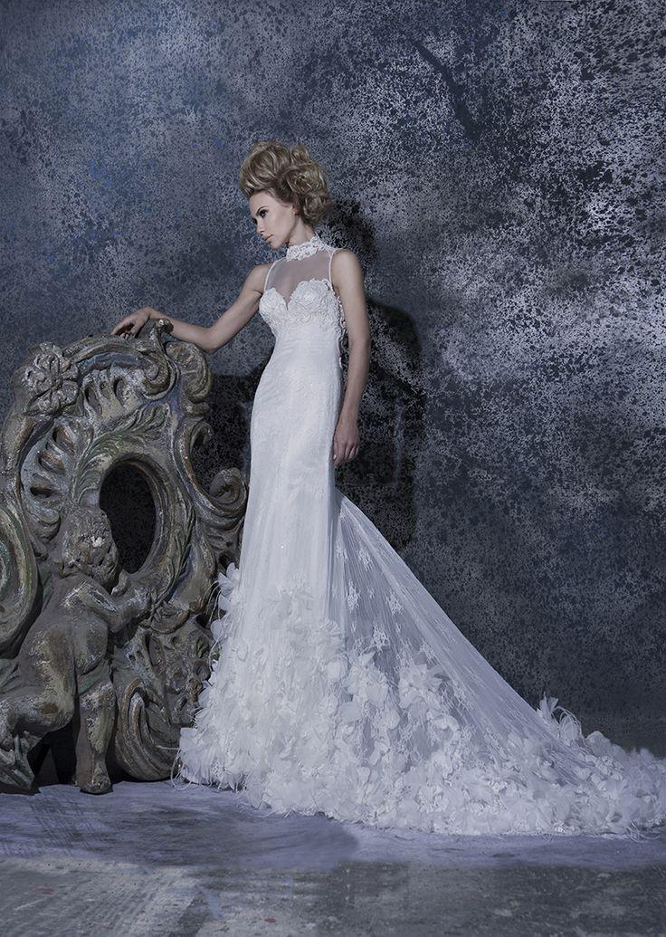 Our //Katia// #vintage #lace #gown