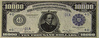 Today in 1969 the United States officially stopped circulation of the $500, $1,000, $5,000 and $10,000 bill