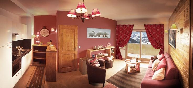 L'Etoile des Cimes (Living room) - Sainte Foy