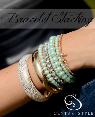 Five Stackable Bracelets for Under $16.00 Shipped!