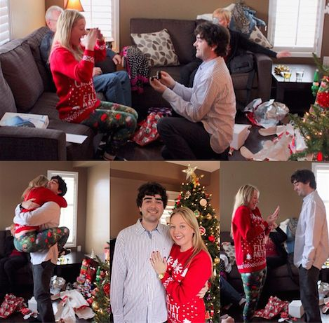 How He Asked Christmas Morning ft. on HowHeAsked.com | Christmas Morning Proposal Will You Marry Me? | Christmas Proposal | MyRoaringTwenties.com