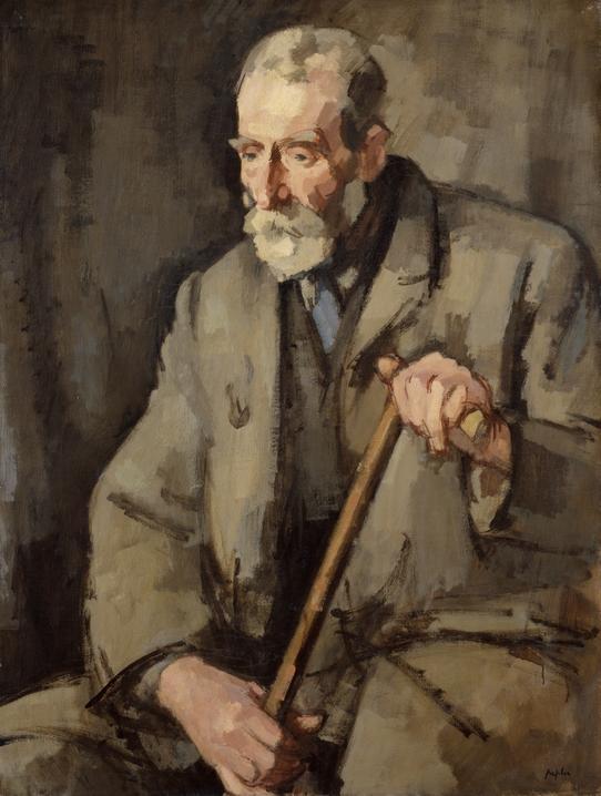 Old Duff (1922)  Samuel John Peploe
