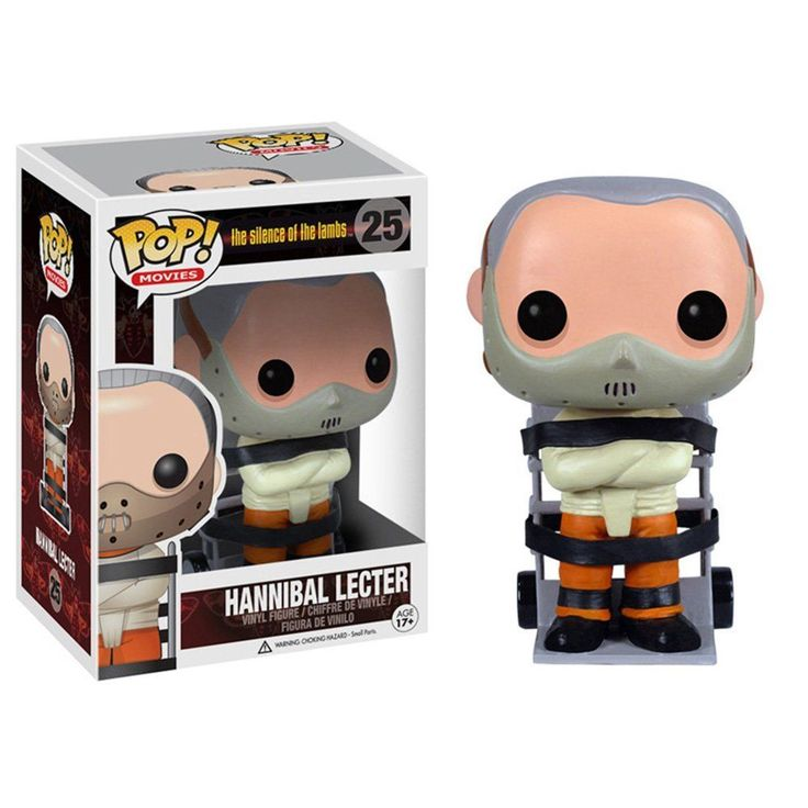 Your favorite cannibal from the movie The Silence of the Lambs has been given the Pop. Vinyl treatment with this Silence of the Lambs Hannibal Lecter Pop. FUNKO did it again. We reserve the right to cancel any order for any reason at any time.