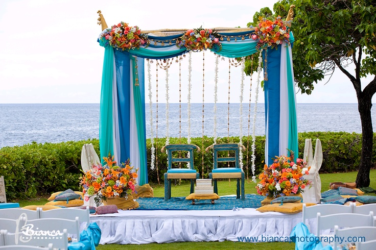 Jw Marriott Ihilani Weddings Indian Wedding Ceremony At
