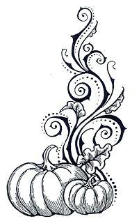 Pumpkin Flourish