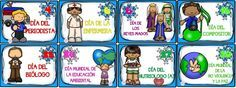 Estupendos diseños de las efemérides del mes de enero | Educación Primaria