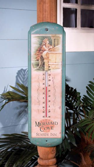Thermometer Vintage Mermaid VINTAGE MERMAID THERMOMETER - $12.00 : Enchanted Cottage Shop, For Gifts Antiques Reproductions Collectables and Home Decor