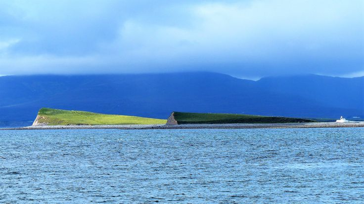 Co. Mayo: drumlins, Clew Bay.
