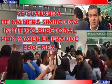 Fraude Electoral marcha contra FRAUDE del PRI destitucion de funcionario...