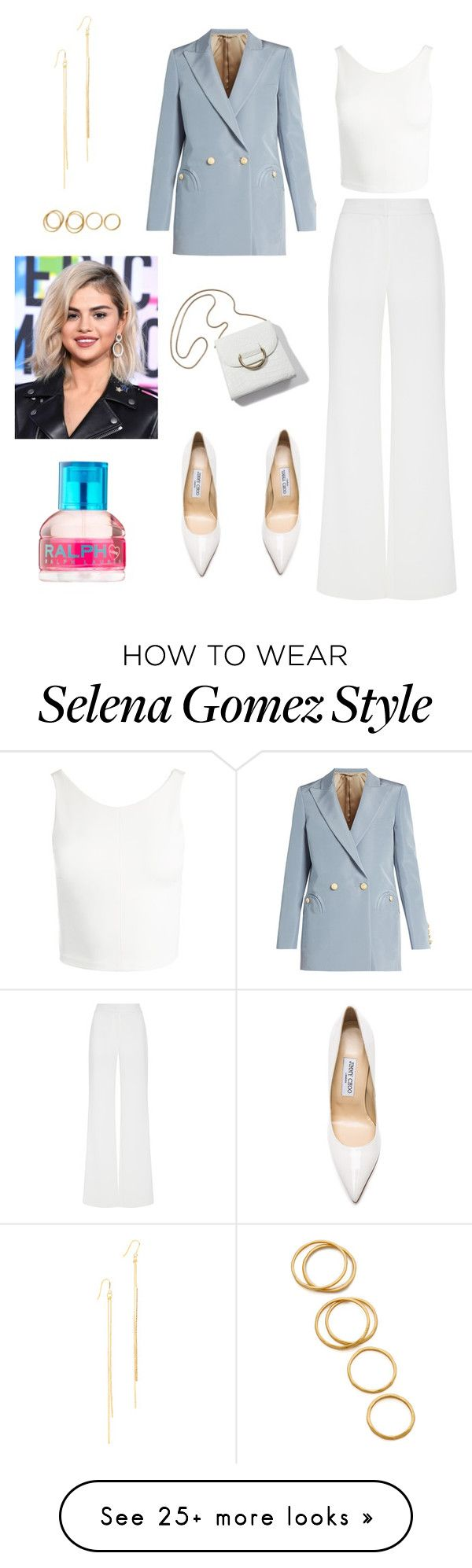 """""""Untitled #670"""" by miiirrra on Polyvore featuring Sans Souci, Blazé Milano, Alexis Mabille, Kenneth Jay Lane, Gorjana, Jimmy Choo and Ralph Lauren"""