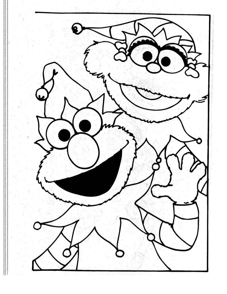 252 best Sesame Street images on Pinterest | Coloring books ...