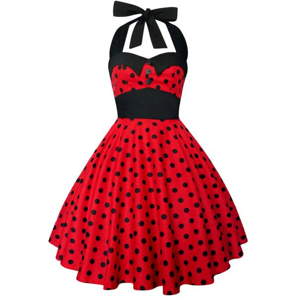 Lady Mayra Ashley Polka Dot Dress Vintage Rockabilly Pin Up 1950s... (2.860 RUB) ❤ liked on Polyvore featuring dresses, short dresses, grey, women's clothing, plus size short dresses, plus size vintage dresses, women's plus size dresses, plus size rockabilly dresses and flared skirt