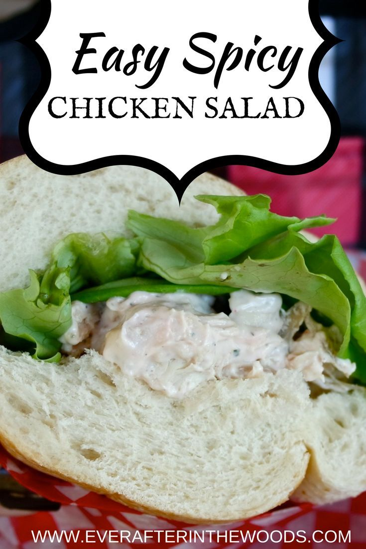 Easy, Spicy Chicken Salad – Perfect for On-The-Go Lunches  #kingofflavor #fieldtobottle #ad