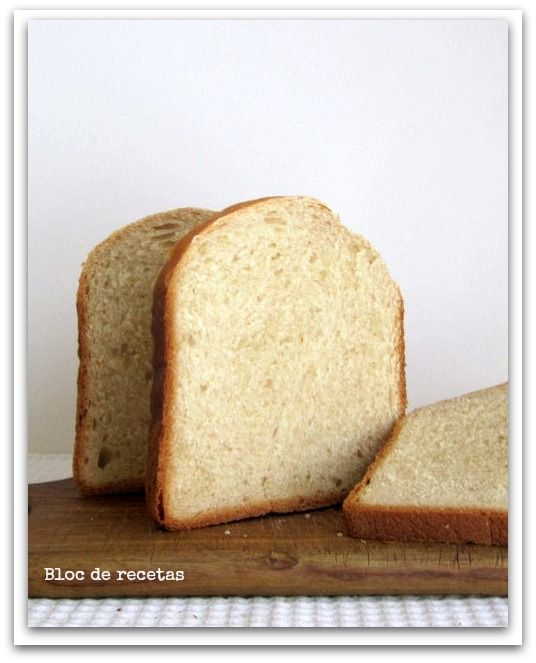 Bloc de recetas: Como hacer pan en panificadora. Receta del pan de molde de miel