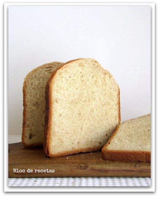 Recetas pan panificadora