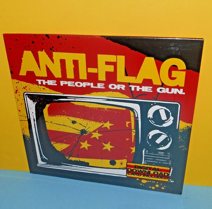 ANTI-FLAG the people or the gun LP Vinyl Record SEALED , punk #PUNKPunkNewWave
