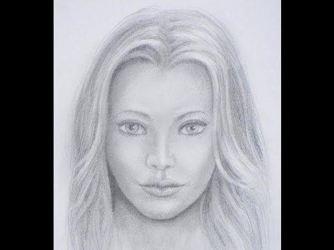 Cómo dibujar un rostro a lápiz / Técnicas para lograr parecido / Proporciones del rostro - YouTube