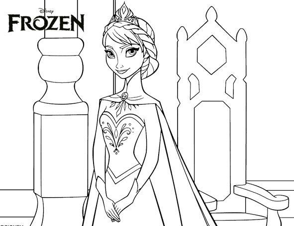Dibujos Para Colorear E Imprimir De Frozen: 1000+ Ideas Sobre Frozen Para Pintar En Pinterest