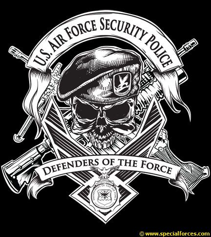 Air Force Security Police | US Air Force Security Police Patch