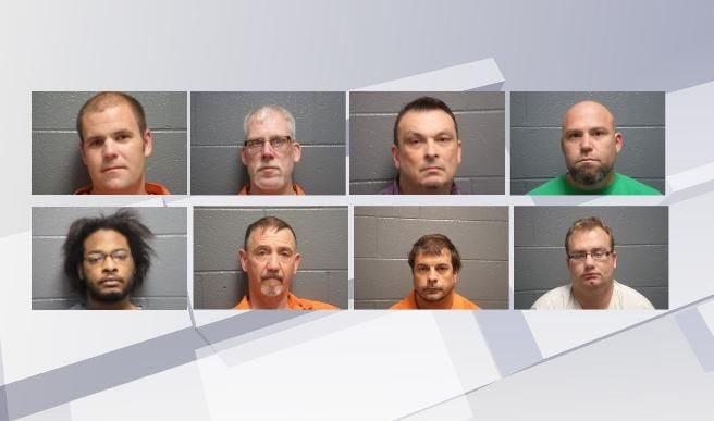 Eight arrested in undercover sex sting operation