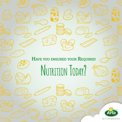A good life is built on good nutrition. Arla's nutritionally rich dairy products keep you well-nourished on a daily basis and build the foundation for a better day.